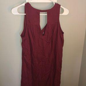Old Navy Dresses - Burgundy Dress